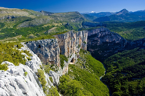 Les gorges du verdon depuis le point sublime - photographe professionnel 04 et 84