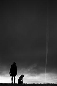 Photographie Fine Art - Regard d'une ombre sur les hauteurs du Luberon