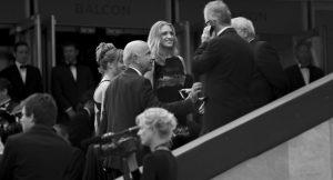 Photographie événementiel N&B - Festival de Cannes 2011 - Sarah Jessica Parker