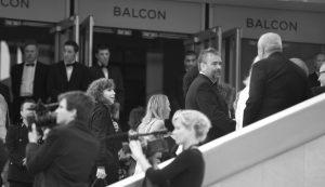 Photographie événementiel N&B - Festival de Cannes 2011 - Luc Besson
