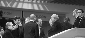 Photographie événementiel N&B - Festival de Cannes 2011 - Jean Dujardin