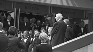 Photographie événementiel N&B - Festival de Cannes 2011 - Avec Robert De Niro