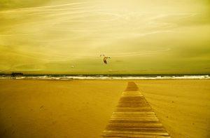 Photographie Fine Art : Kitesurf El Campello 2