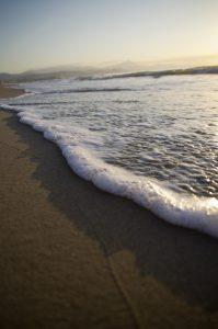 Photographie Nature - Plage de San Juan - Effleurement d'une vague
