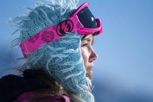 Une photographie Portrait - profil sur les montagnes du Queyras