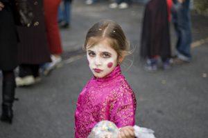 Photographie - Portrait d'une enfant - Le carnaval
