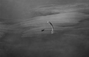 Photographie Sport N&B - Baptême parapente