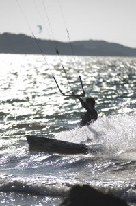 Photographie Sport - KiteSurf à Porquerolles