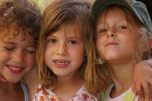 Photographie - portraits d'enfants - Le trio