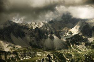 Photographie nature - Montagne d'altitude du Massif des Cerces et le lac des Béraudes