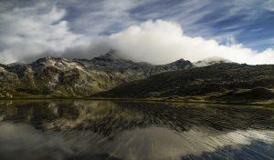 Photographie nature - Montagne et filtres naturels - lac d'altitude du Massif des Cerces