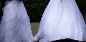 Photographie mariages - Les robes blanche
