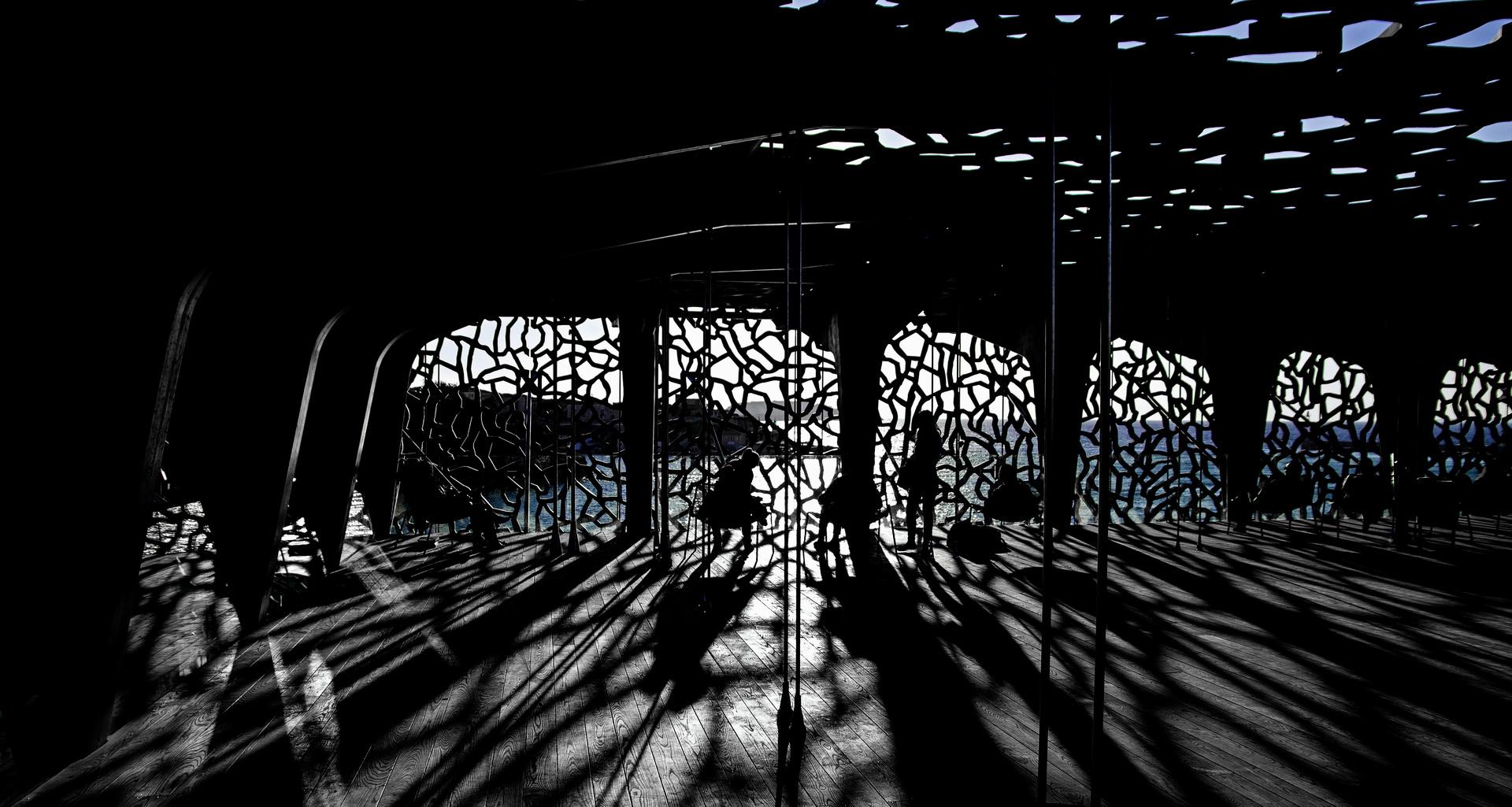 Illustration milieu urbain - Photographie Fine Art - La nuit des musées