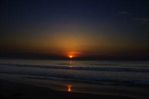 Photographie - Nature - levé bleuté à l'aube du jour.