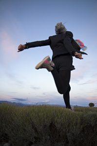 Photographie Portrait nature - Les plateaux de lavandes en Provence.