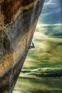 Photographie David-Alexandre Vianey - Sport escalade à Buoux, Choucas 8a+