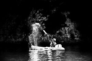 Photographie Sportive NB - Kayak sur Verdon
