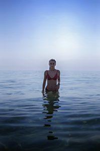 Portraits et modèles de Zoé V. - Mer d'huile à El Campello
