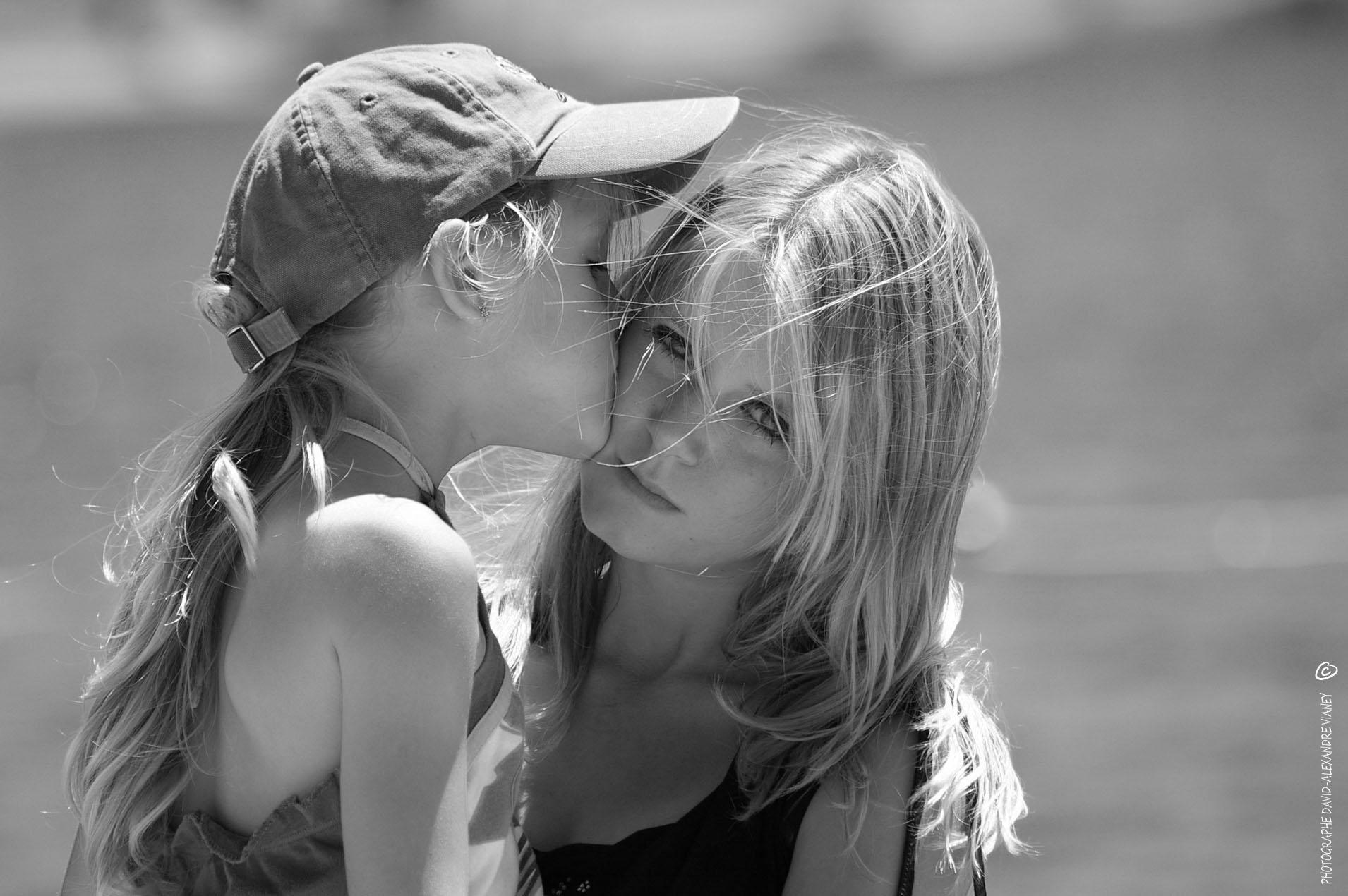 Photographie Portrait (nb) - Mes filles les plus précieuses