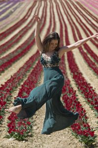 Danse avec les tulipes