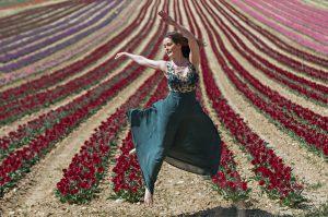 Portrait élégance - Les tulipês en région Sud