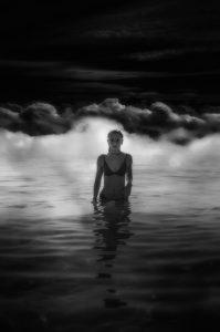 Photographie Fine Art noir et blanc - Portrait d'une nuit artistique