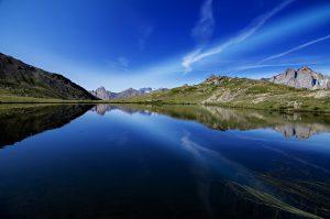 Photographie nature lac d'altitude - Les reflets d'altitude