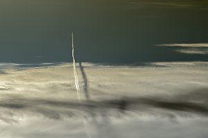 Photographie nature - Ombre aérienne au-dessus du ciel