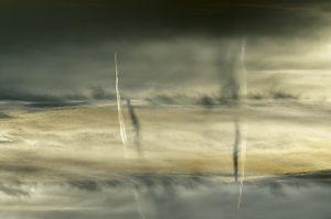 Photographie nature - Ombre portée sur mer de nuages