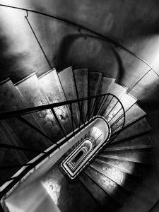 Photographie Fine Art - Architecture hélicoïdale - Regard d'un angle à l'hôtel de Caumont - Hôtel de Caumont Centre d'Art Aix-en-Provence