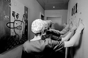 Photographe professionnel David-Alexandre Vianey - Actu Photo - Illustration Fine-Art - Le coeur des femmes - Noir et blanc