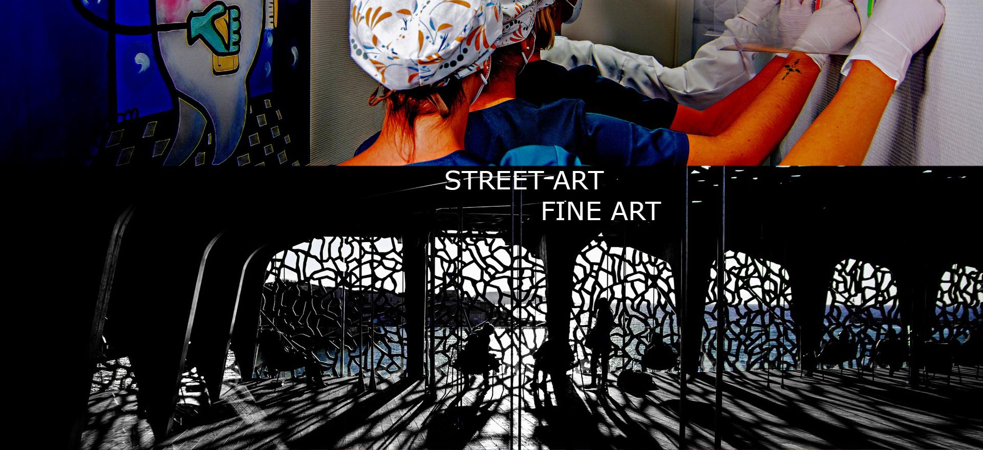 Photographie Street Art - Fine-Art